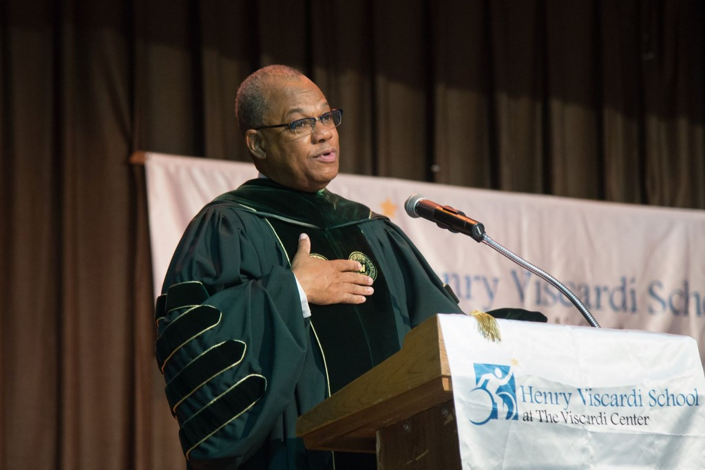 Dr. Butts Delivers Commencement Speech
