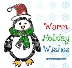 holiday wishes penguin