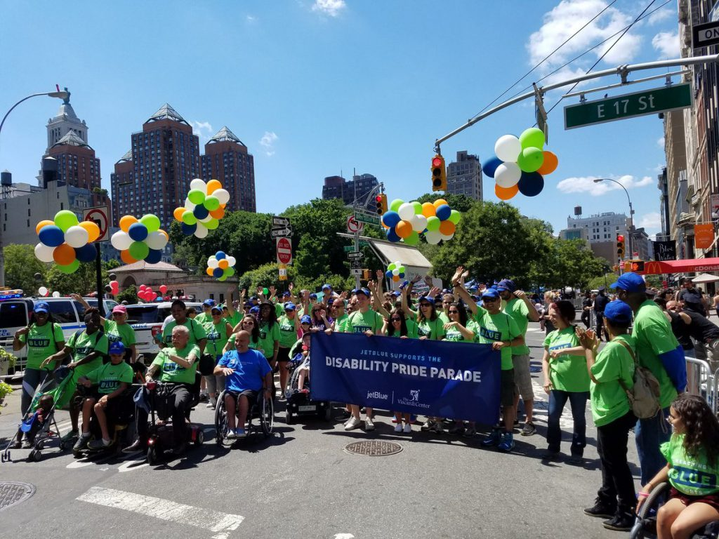 Viscardi Center Supporters at the 2017 ADA Parade